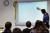 tableau numérique interactif au Collège Sainte-Thérèse de saint-pierre-sur-dives