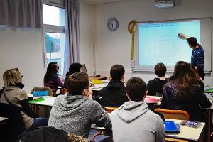 tableau numérique interactif et TNI et TBI au collège Sainte-Thérèse