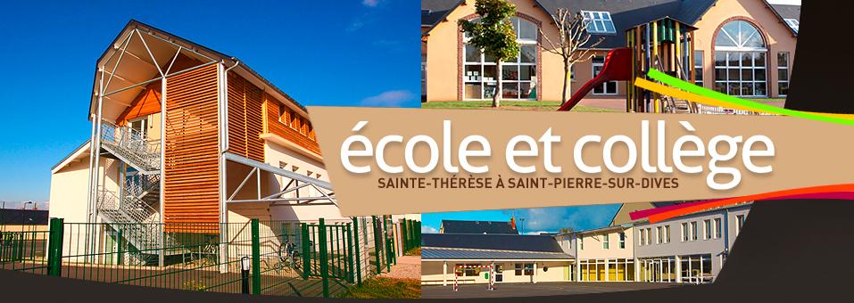 école et collège d\'enseignement catholique privé Sainte-Thérèse à Saint-Pierre sur dives